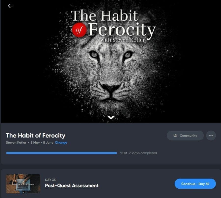 the habit of ferocity quest screenshot