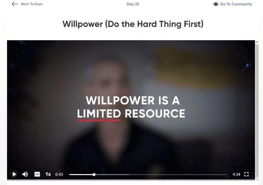 the habit of ferocity screenshot willpower
