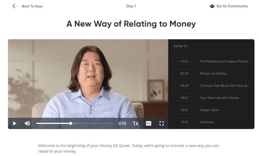 Money EQ Mindvalley Screenshot