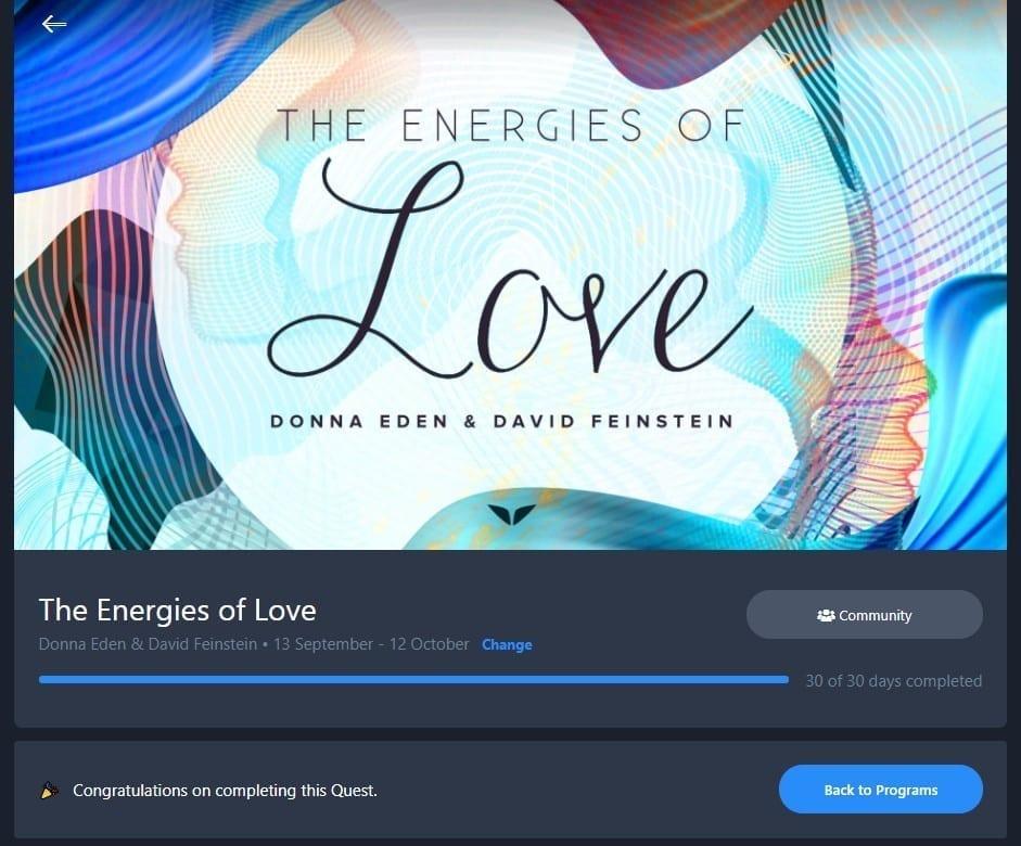 The Energies Of Love Quest Screenshot