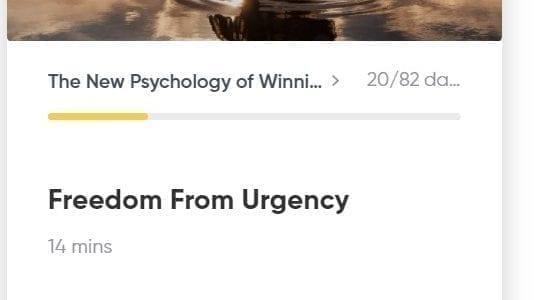 new psychology of winning
